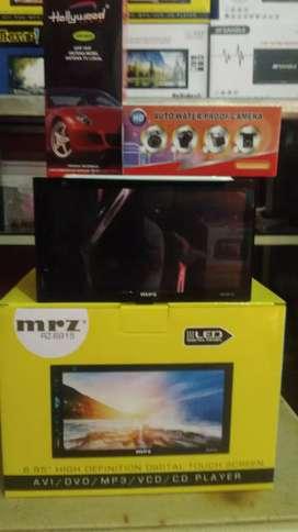 Double din tv led fitur komplit, antenaTV, Camera Parkir led+ Psng