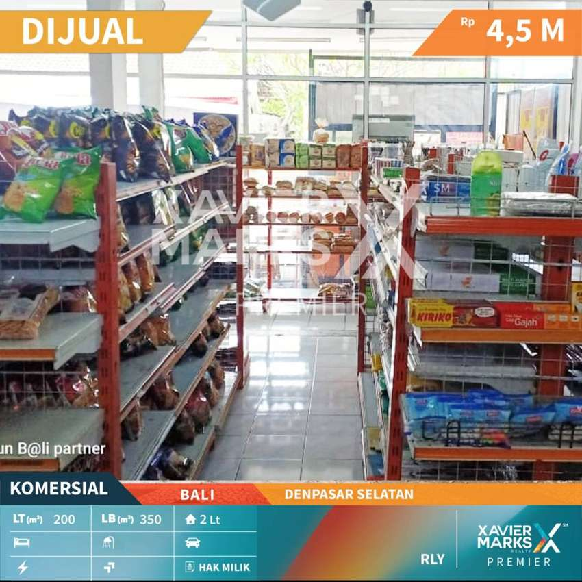 Dijual tempat usaha Lokasi stategis di Denpasar - Selatan