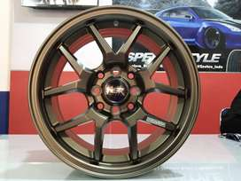 Velg Mobil Racing Tipe HSR HYURA Ring15X65 (Brio Calya Sigra Dll)
