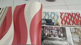 Wallpaper bermotif yang eleghan n murah