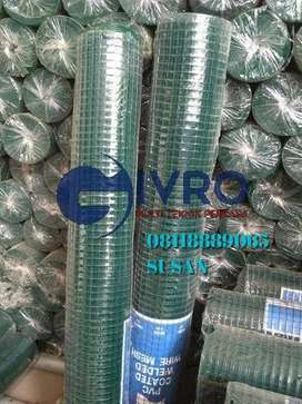 Pabrik kawat loket/kandang umbaran PVC murah