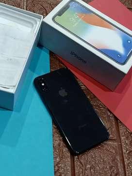 iPhone X Grey 64gb fullset terawat