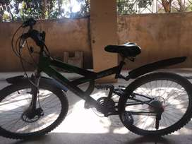 This is 1 year old cycle in a very good condition.It's a gear cycle.
