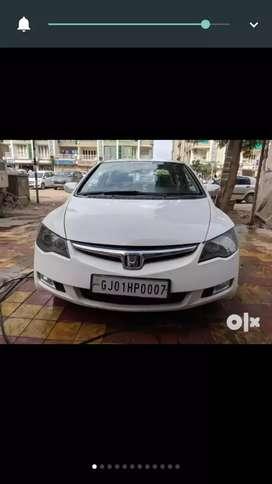 Honda civic with CNG