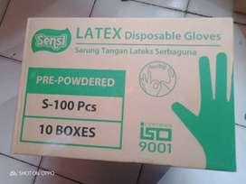 Sarung tangan sensi latex gloves