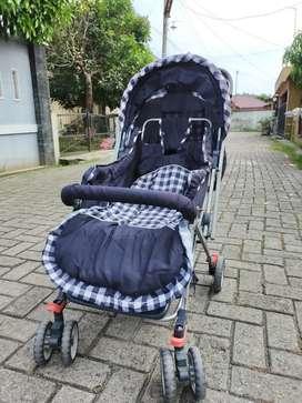 Stroller Bayi Pemakaian Pribadi Bisa Dilipat