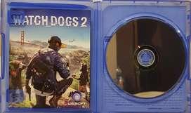 Kaset/bd games playstation 4 original sony watch dog 2