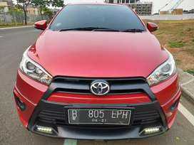 Yaris TRD AT 2016 Merah KM 44rb