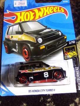"Hotwheels, ""85 HONDA CITY TURBO II."