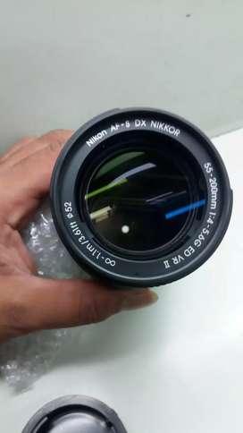 Nikon AF 55-200mm' Lens all new