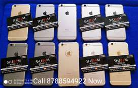 100% Orignal Iphone 6 16GB 32GB 64GB all Models Avilable with bill box