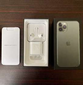 Iphone 11 Pro, 256gb, PTA approved, Single sim, Midnight green