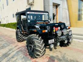 Rahul jeep modified-All type of open modified jeep Deliver All india