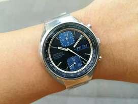 Ori 70s Seiko baby ufo JPS John Player Special 6138 blue Oris ks gs ap