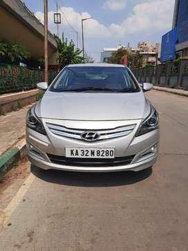 Hyundai Verna 2011-2014 1.6 SX, 2016, Petrol
