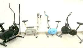 gym exercise weight loss fitness cycles old cum new Rs.2950/-