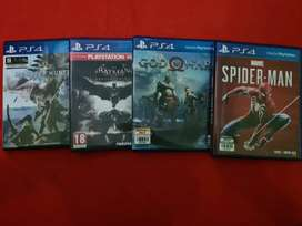 Kaset game PS4 (bekas)