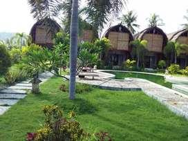 Dijual vila dikawasan Kuta Lombok, jumlah bangunan 14 unit kamar
