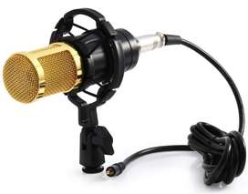 AB  Taffware microphone kondenser bm-800 dengan shock proof mount