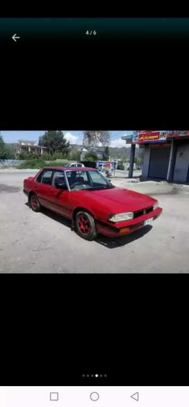 Honda accord red colour islamabad number