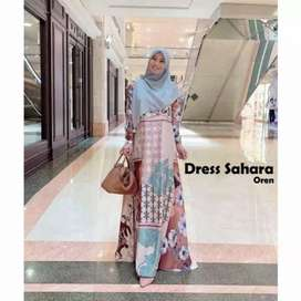 Sahara dress muslimah