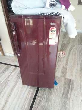 LG refrigerator single door