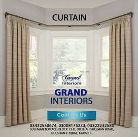 Buy curtains and blinds by Grand interiors