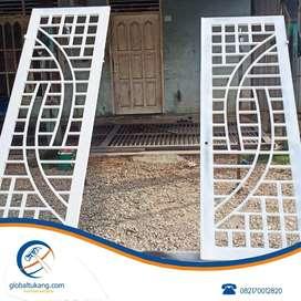 Jasa pembuatan tangga,folding gate,pagar, teralis pintu,jendela,balko