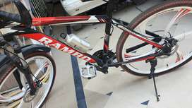 """Rambo star rims bicycle full alloy frame 26"""" brand new condition"""