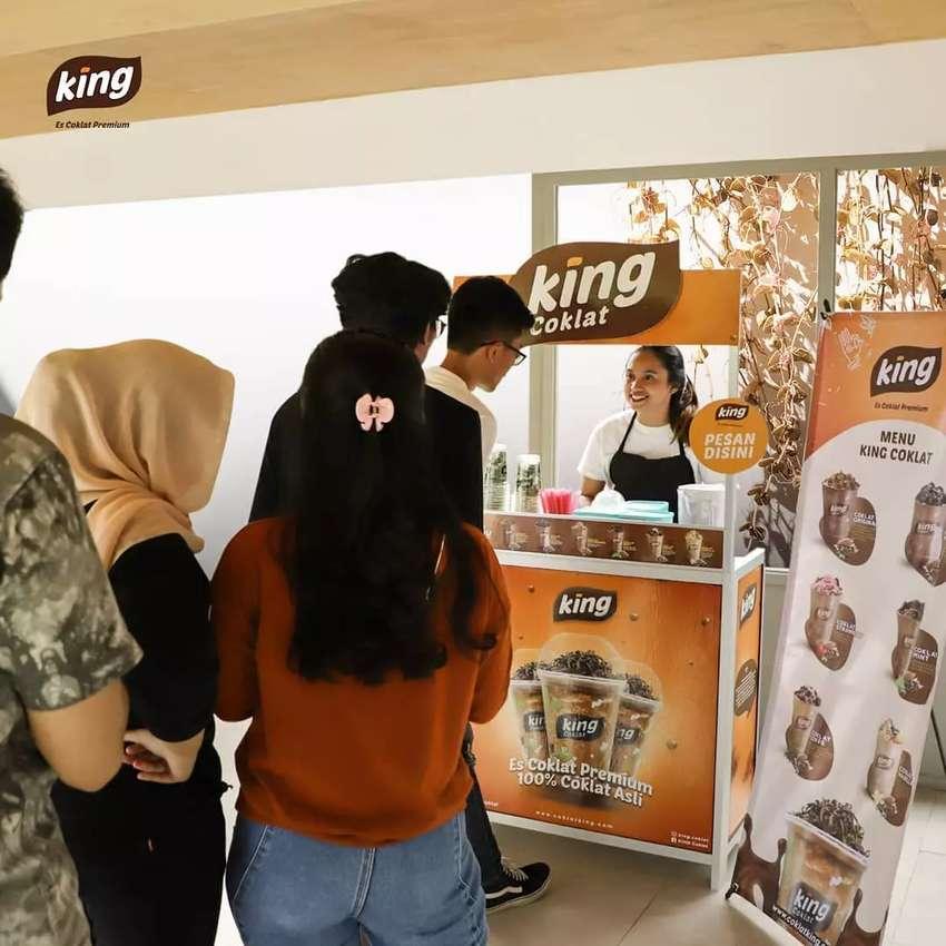 Booth Gerobak King Coklat 0