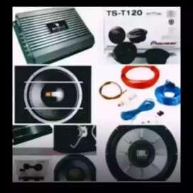 paket bum paket gan JBL+box+kabel+pasang dijamin puas dan rapi