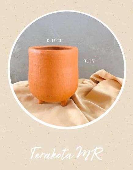 pot bunga terakota mr 0