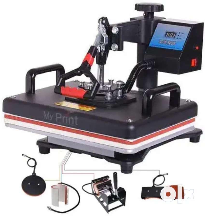 Heat Press Mug and  T-shirt Printing Machine with Epson Printer