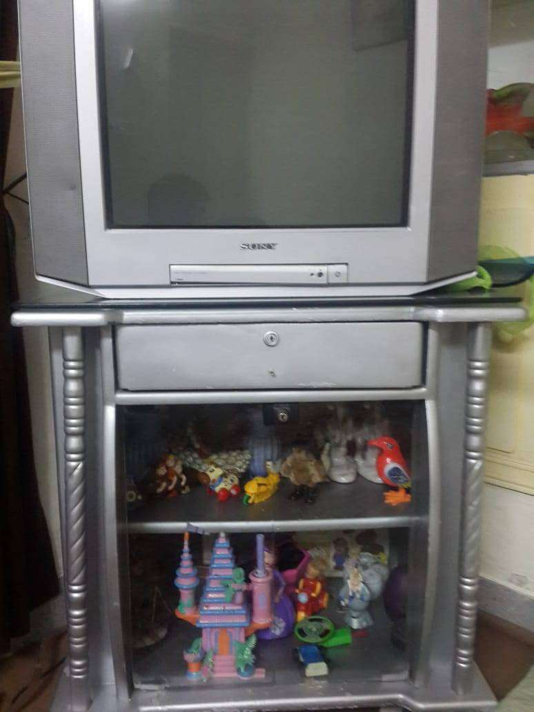 Sony Tv with trolley 0