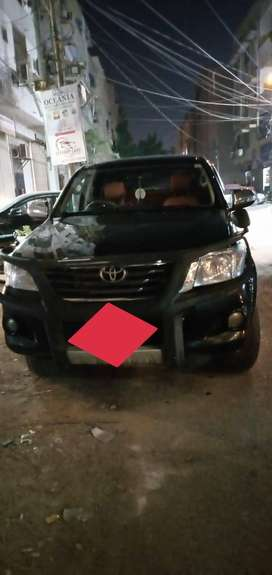 Toyota hilux 2012 thailand converted