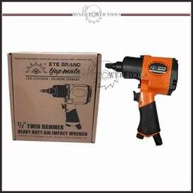 Air impact wrench mini 1/2 inci.Twin Hammer.tjap mata Germany.Heavy du