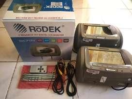 Headrest monitor Rodek 7in gress