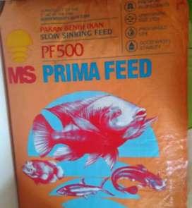 pelet bibit ikan pf 500