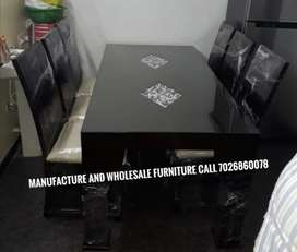 Royal dining table 6 chair factory price manufacture wholesal furnitur