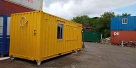 Sedia container office 20ft 40ft dan Polosan Untuk Usaha Anda