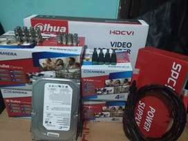 Cctv murah , paket lengkap 2 kamera free biaya pasang