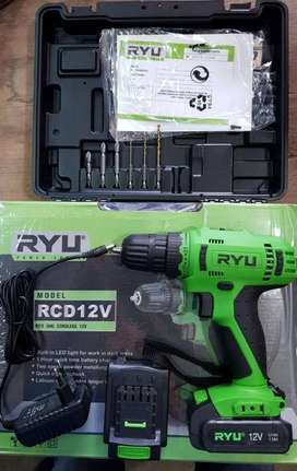 RYU BOR CORDLESS RCD 12 V RCD 2 Baterai Makita Bosch