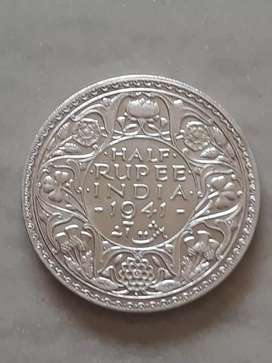 1941 silver coin 78 year old