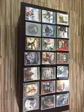 Ps3 games as good as new going for low price