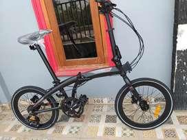 """Sepeda Lipat Element 20"""" Ecosmo 8"""