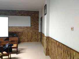 Wall Cladding Kayu Jati