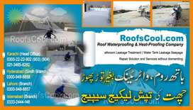 Heat Proofing & Water Proofing Bathroom and Tank Leakage in Pakistan