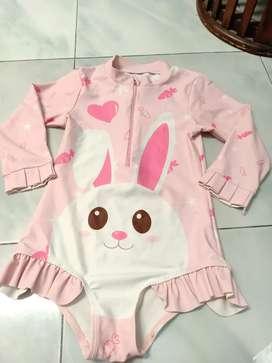 Preloved baju renang anak 4-5 thn