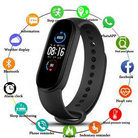 M5 Smart Bracelet Upgrade Sports Bracelet Heart Rate Blood ...