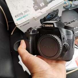 Kamera BO Canon 70D Fullset